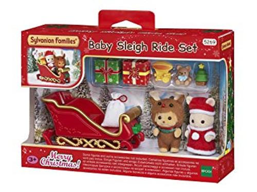SF - CHRISTMAS BABY SLEIGH RIDE SET
