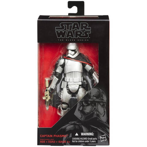STAR WARS BLACK SERIES 6 INCH FIGURE - CAPTAIN PHASMA