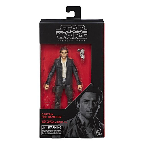 STAR WARS BLACK SERIES 6 INCH FIGURE - CAPTAIN POE DAMERON