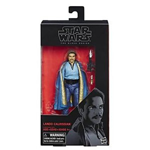 STAR WARS BLACK SERIES 6 INCH FIGURE - LANDO CALRISSIAN