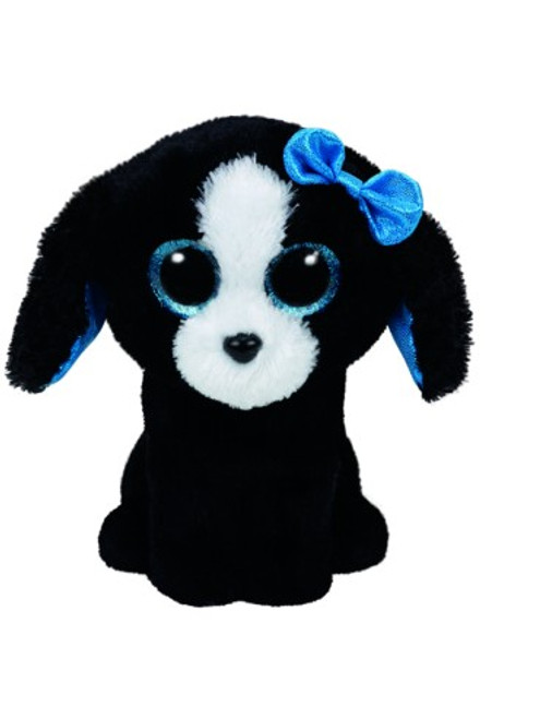 BEANIE BOOS LARGE - TRACEY THE BLACK DOG