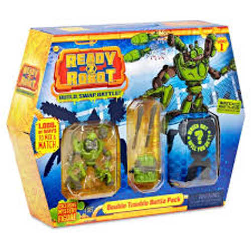 READY2ROBOT BATTLE PACK - DOUBLE TROUBLE PACK