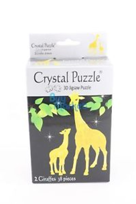 3D CRYSTAL 2 GIRAFFES PUZZLE