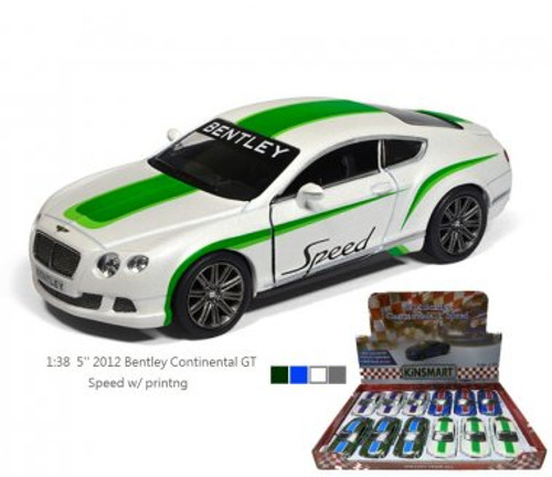 5 INCH 2012 BENTLEY CON GT WITH PRINT