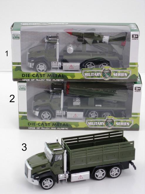 ARMY TRANSPORTER TRUCK SERIES - ROCKET LAUNCHER