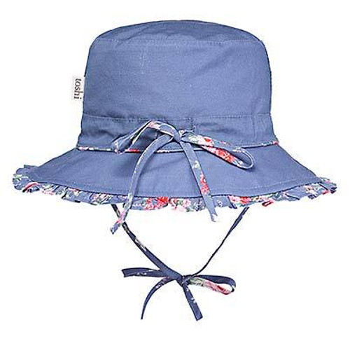 TOSHI - SUNHAT CHARLOTTE CORNFLOWER MEDIUM