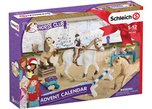 SCHLEICH - ADVENT CALENDAR HORSE CLUB 2018