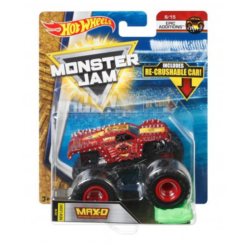 HOT WHEELS MONSTER JAM 1:64 - MAX-D FLW99
