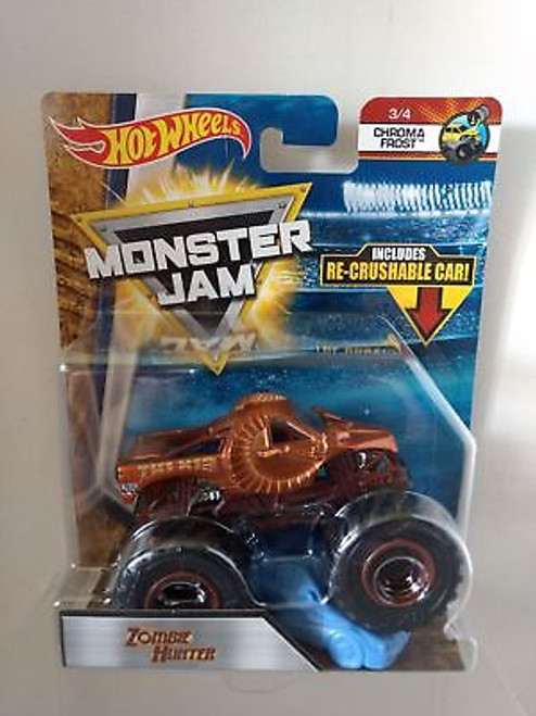 HOT WHEELS MONSTER JAM 1:64 - ZOMBIE HUNTER
