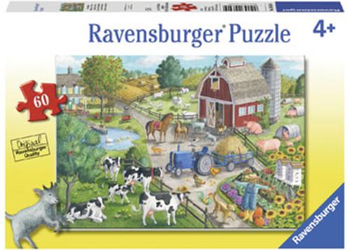 RAVENSBURGER - HOME ON THE RANGE PUZZLE 60 PCE