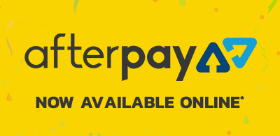Afterpay payments now available online (terms and conditions apply)