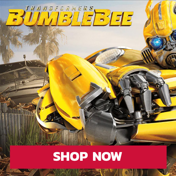 Transformers Bumblebee call to action