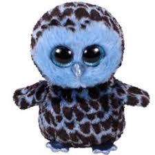 d38fbc93e9b BEANIE BOOS MEDIUM - YAGO THE BLUE OWL - Uncle Pete s Toys