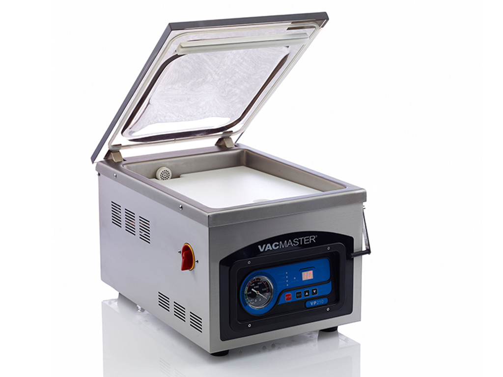 Beautiful VacMaster VP210 Chamber Vacuum Sealer With See Through Lid