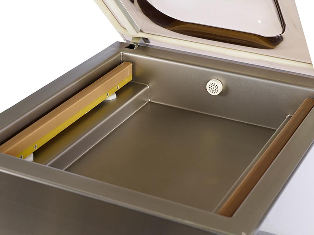 VacMaster VP321 vacuum sealing machine features dual seal bars
