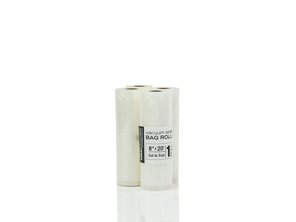 """Bulk - 8"""" x 20' Full Mesh Vacuum Seal Roll - 1 Pack"""