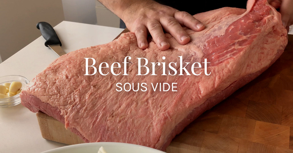 Beef Brisket Sous Vide Recipe