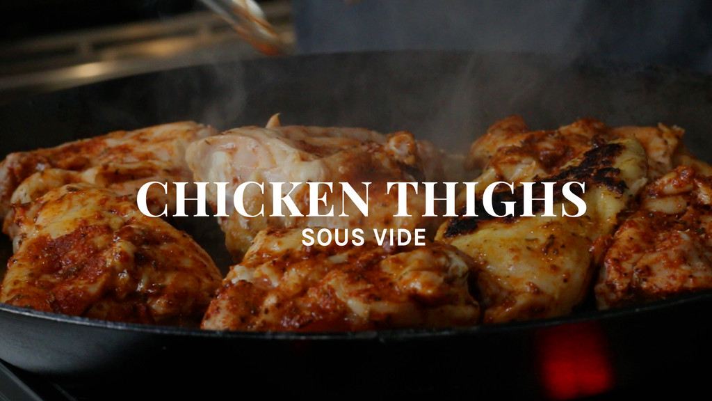 Chicken Thighs Sous Vide Recipe