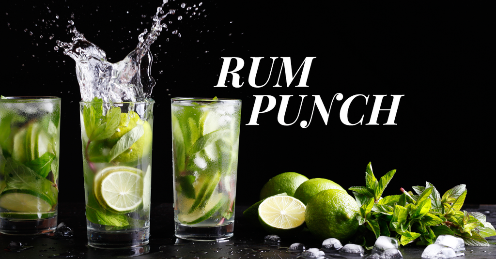 Planter's Rum Punch with Spiced Rum Sous Vide