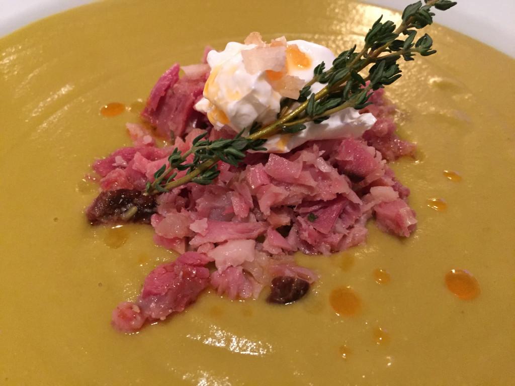 Split Pea Soup with Ham Bones & Hocks Sous Vide