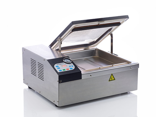 VacMaster VP120 vacuum chamber unit with automatic lid