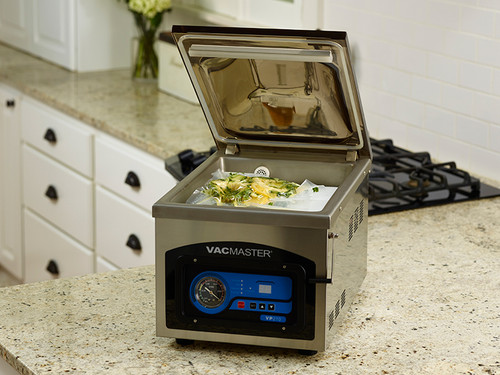 VacMaster VP210 vac pack food with chamber unit