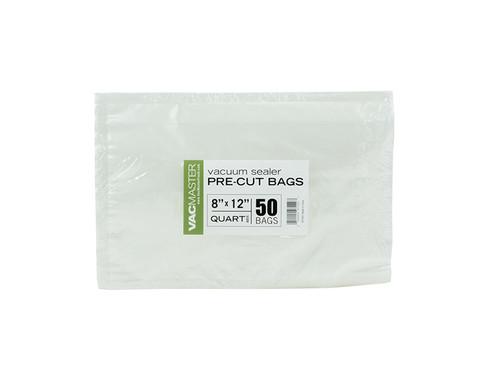 """Bulk - 8"""" x 12"""" Full Mesh Vacuum Seal Quart Bags - 50 Pack"""