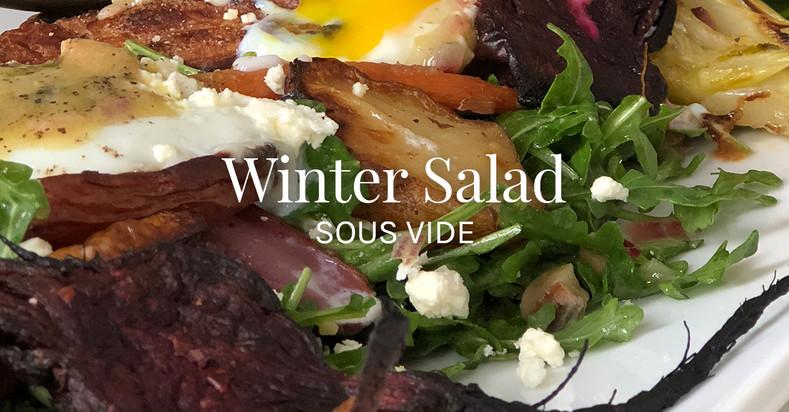 Winter Salad Sous Vide Recipe