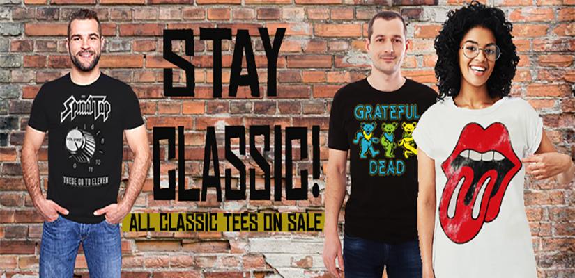 Oldschooltees Classic Rock Sale