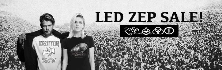 Oldschooltees Led Zeppelin banner