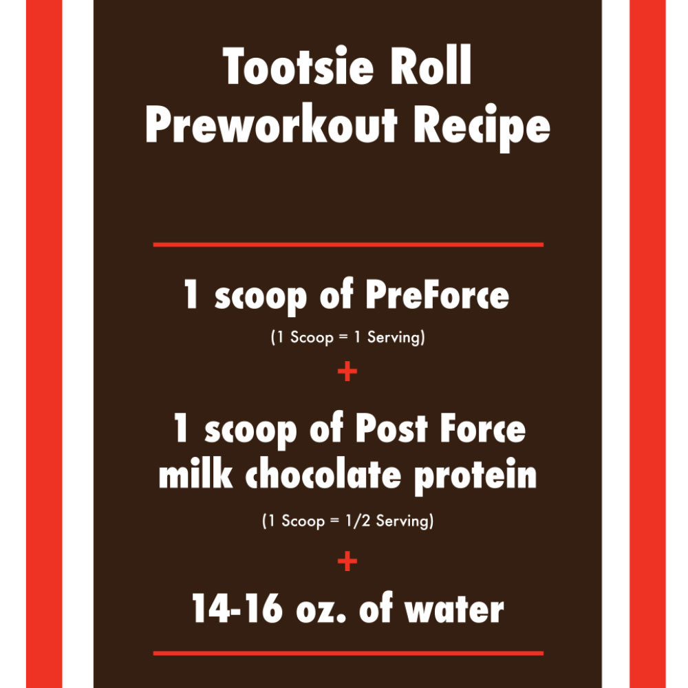 Delicious Preworkout and Chocolate Protein Recipe