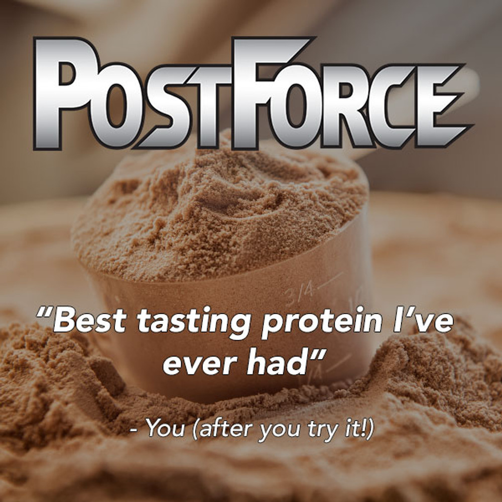 Great tasting powder that mixes easily with water or milk!