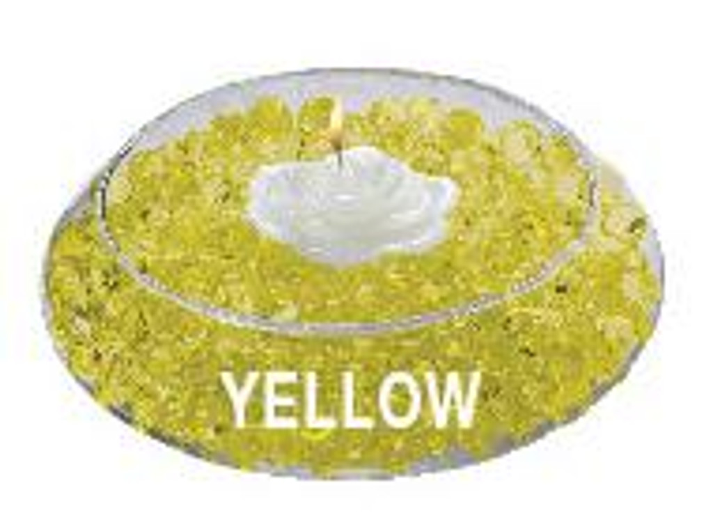 Water Storing Deco Beads 8 oz Yellow