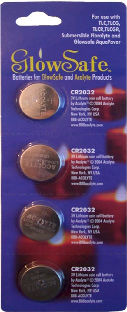 (4) CR2032 Batteries