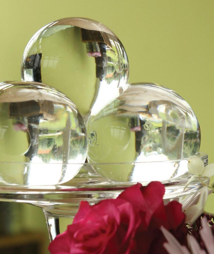 Water Storing Deco Balls 12 oz Jar Clear