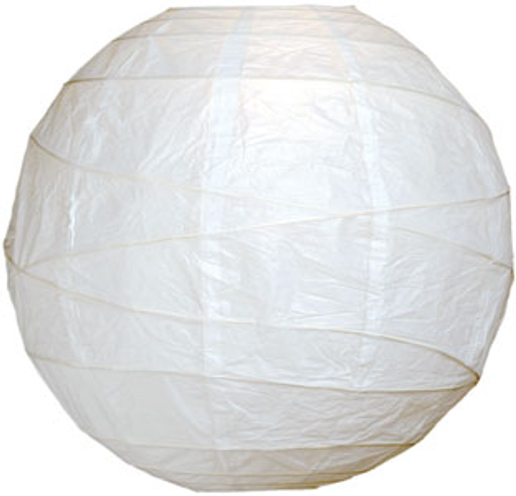 Premium White 14-Inch Round Paper Lantern