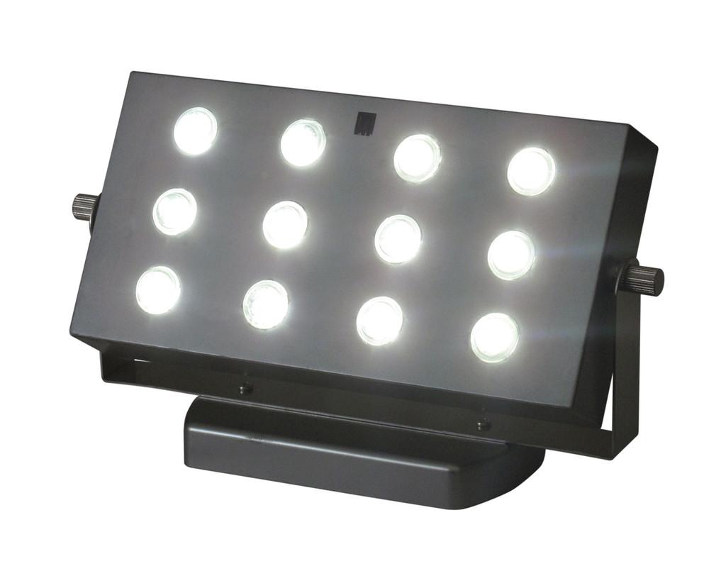 E-Wall Wash, 12 White Bright SMT Lights - Remote Capable