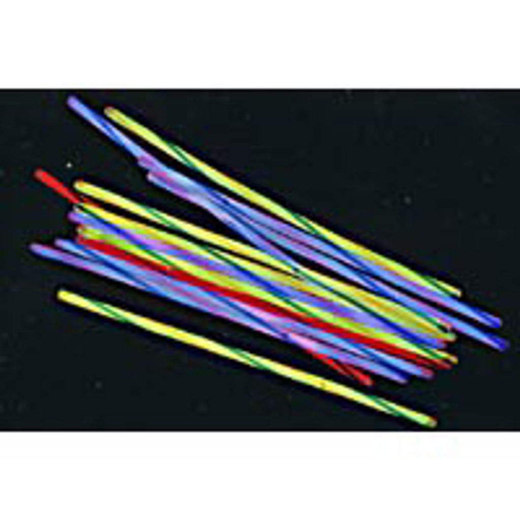 100 GLOW STICKS PARTY TUBE - Variety of Colors
