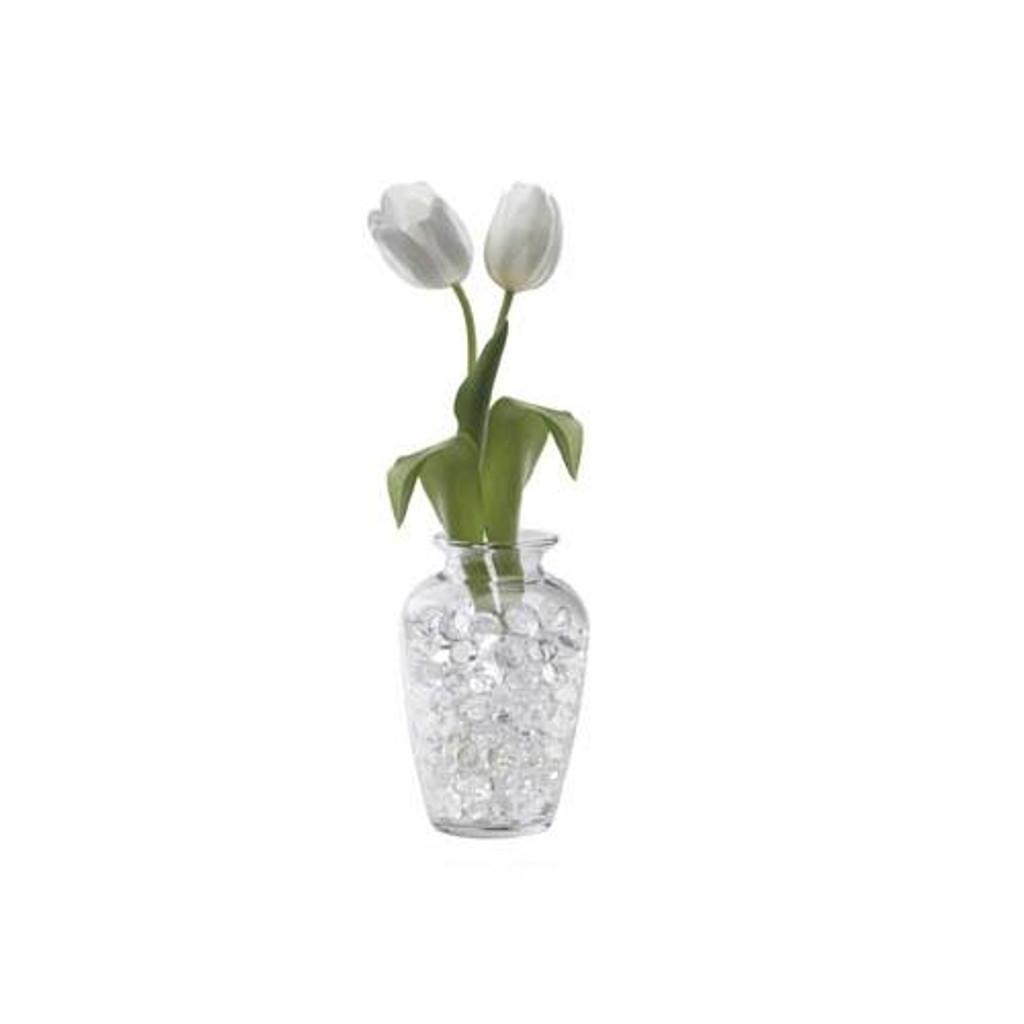 Water Storing Deco Beads 8 oz White