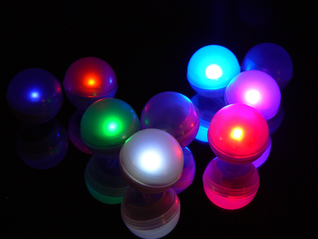 Fairy Berries - Box of 10 Magical LED Lights - Choose a Color
