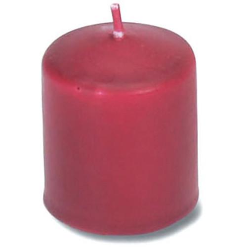 Unscented 12 Hour Votive Candle, 30/Pkg, Red
