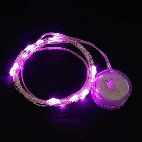 Toronado - 20 Pink LEDs on 9' Memory Wire - Submersible