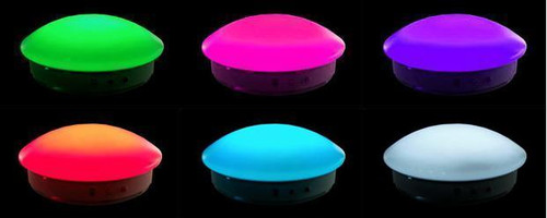 """Maxcolor Table Skirt Light with Remote Control, 132 LEDs, 13.75"""" Diameter"""