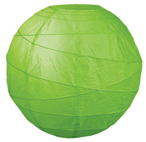 Premium Grass 14-Inch Round Paper Lantern