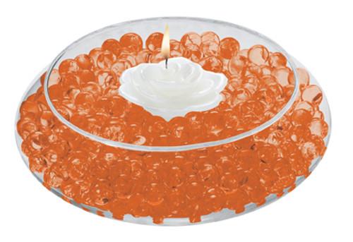 Water Storing Deco Beads 8 oz Orange