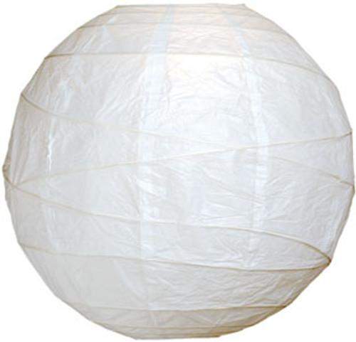 Premium White 18-Inch Round Paper Lantern