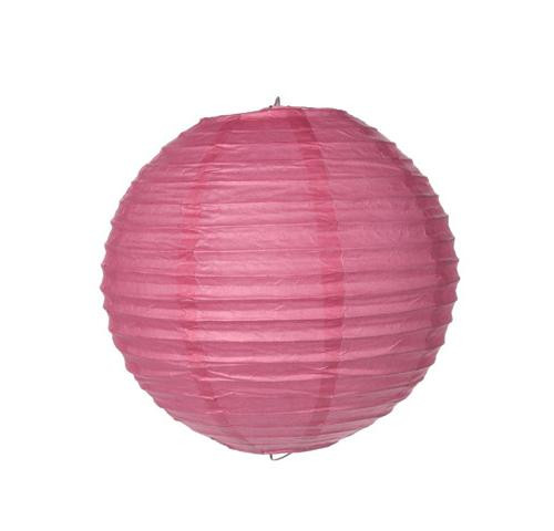 Paper Lantern - Pink - 8 inches