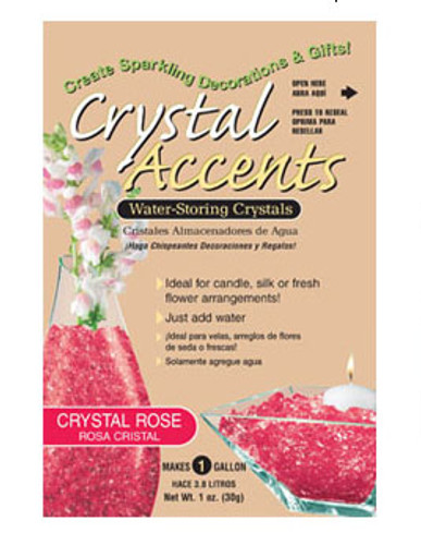 Crystal Accents Water Storing Crystals