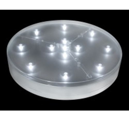 E-Luminator Light Base 8-Inch Battery Operated 13 White LED Lights