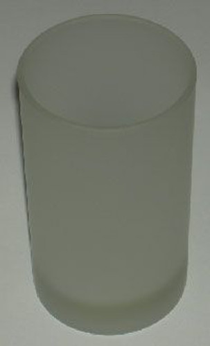 Frosted Glass Votive Holder 2.5""